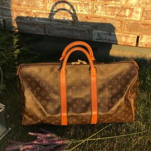 Vintage Louis Vuitton Keepall 45 Travel Bag